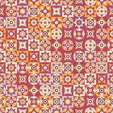 五颜六色的无缝的模式 库存图片