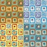五颜六色的无缝的模式 免版税图库摄影