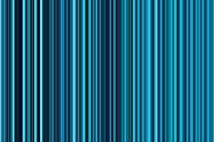 五颜六色的无缝的蓝绿色,青绿色,海洋绿的条纹样式 抽象背景例证 时髦的现代趋向颜色 库存图片