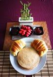 五颜六色的早餐 免版税库存照片