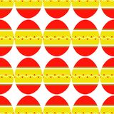 五颜六色的明亮的装饰的鸡蛋的无缝的样式 皇族释放例证