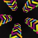 五颜六色的星形 免版税图库摄影