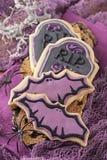 五颜六色的曲奇饼 库存照片