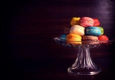 五颜六色的曲奇饼 免版税库存图片