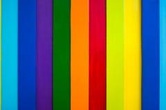 五颜六色的木墙壁背景6 免版税库存图片