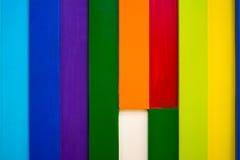 五颜六色的木墙壁背景7 免版税库存图片