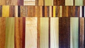 五颜六色的木木条地板样式 库存照片