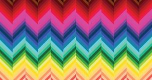 五颜六色的木条地板模式 库存图片