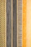 五颜六色的木条地板 免版税库存照片
