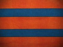 五颜六色的条纹织品 免版税库存图片