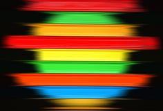 五颜六色的条纹 库存例证