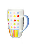 五颜六色的杯子茶 库存照片