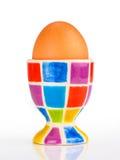 五颜六色的杯子蛋持有人 图库摄影