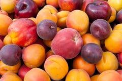 五颜六色的果子堆 免版税库存照片