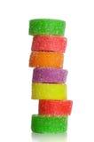 五颜六色的果子甜点 免版税图库摄影