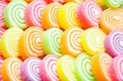 五颜六色的果冻 免版税图库摄影
