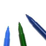 五颜六色的标记 免版税图库摄影