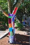 五颜六色的树 免版税库存图片