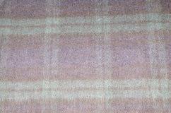五颜六色的格子花呢披肩毯子 免版税库存照片