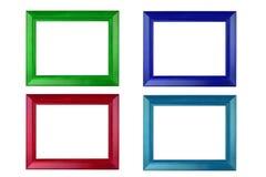 五颜六色的框架照片 免版税库存图片
