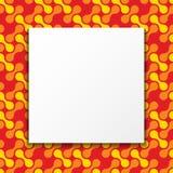 五颜六色的框架背景 免版税库存图片