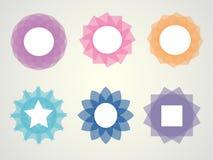 五颜六色的框架 库存照片