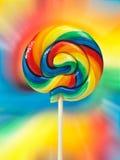 五颜六色的棒棒糖 免版税库存照片