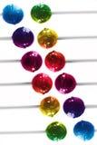 五颜六色的棒棒糖 免版税库存图片