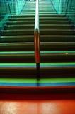 五颜六色的楼梯 库存图片