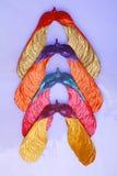 五颜六色的槭树种子 免版税库存照片
