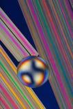 五颜六色的模式彩虹 免版税库存照片