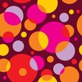 五颜六色的模式无缝的向量 免版税库存照片
