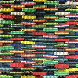 五颜六色的橡胶背景纹理 免版税库存照片