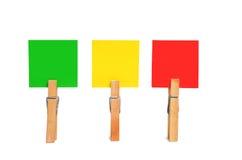 五颜六色的正方形 免版税库存照片