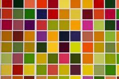 五颜六色的正方形 免版税库存图片