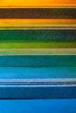 五颜六色的步骤 免版税图库摄影