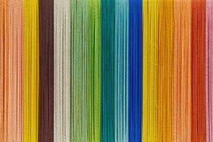 五颜六色的毛线背景  免版税库存图片