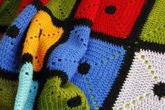 五颜六色的毯子 免版税库存照片