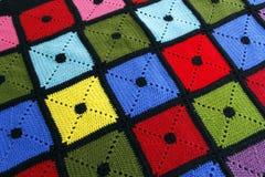 五颜六色的毯子 库存照片