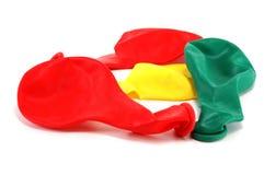 五颜六色的气球 免版税库存照片