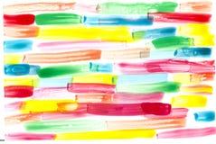五颜六色的水彩c背景 免版税库存图片