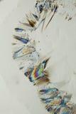五颜六色的水晶冰 免版税库存图片
