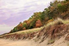 五颜六色的沙丘 免版税库存图片