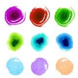 五颜六色的油漆样片的汇集 摘要 免版税库存图片