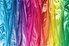 五颜六色的油漆纹理 图库摄影