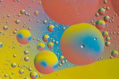 五颜六色的泡影星系 免版税库存照片