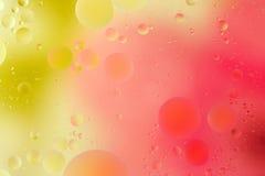 五颜六色的泡影 库存照片