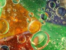 五颜六色的泡影 免版税库存照片