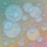 五颜六色的泡影 免版税图库摄影