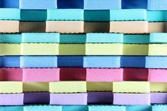 五颜六色的泡沫 免版税图库摄影